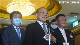 行政院長蘇貞昌。(圖/記者盧素梅攝影)