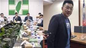 傳藍委因英文不好推遲AIT餐會,綠狠酸:有種專業叫翻譯(組合圖/翻攝臉書、資料照)