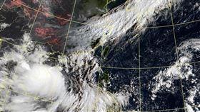 200918紅霞颱風 圖翻攝自中央氣象局