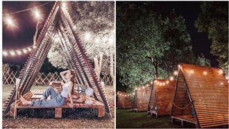 IG紅什麼/新景點!戶外小木屋野餐