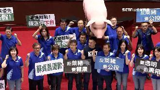 國民黨推反萊豬公投 中選會回應了