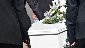 葬禮,喪禮,棺材。(圖/Pixabay)