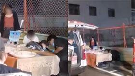 攤販,猝死,翁園夜市,涼糕,高雄(圖/翻攝台灣車友爆料中心(馬路上的大小事)臉書)