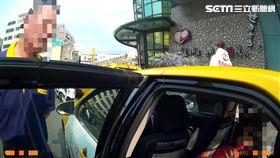 桃園,計程車,笑氣,氣球,運將(圖/翻攝畫面)