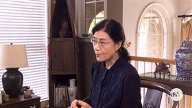中共中央黨校退休教授蔡霞。(圖/翻攝自由亞洲電台)