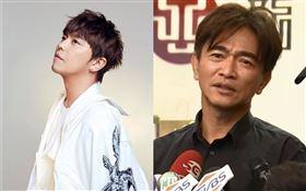 「小鬼」黃鴻升/吳宗憲跟小鬼女友峮峮和KID(林柏昇)一起接受採訪。
