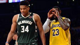 NBA/詹皇沒贏MVP 嘴綠有話說 NBA,MVP,Giannis Antetokounmpo,LeBron James,總冠軍 翻攝自推特