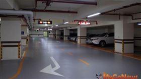 大樓共享地下停車位,240小時內得免徵房屋稅(圖/資料照)
