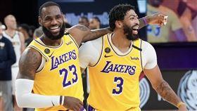 NBA/搶詹皇最後一擊!一眉曝內幕 NBA,季後賽,洛杉磯湖人,Anthony Davis,LeBron James,最後一擊,絕殺 翻攝自推特