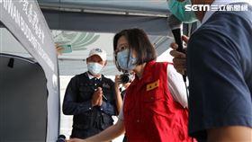 慈濟基金會指出,台南地區慈濟志工也以支援救災人員後勤的角色參與演練(圖/慈濟基金會提供)