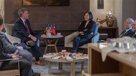 蔡英文總統「自由民主永續之旅」(圖/總統府提供)