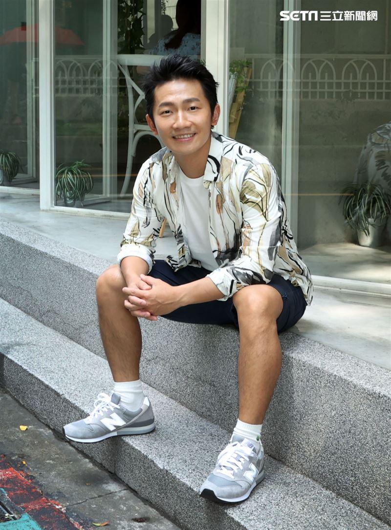 蔡昌憲入圍男主角金鐘三立新聞網專訪。(記者邱榮吉/攝影)