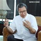 楊烈三立新聞網專訪。(記者邱榮吉/攝影)