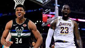NBA/KD:MVP應考量季後賽 NBA,MVP,Giannis Antetokounmpo,LeBron James 翻攝自推特