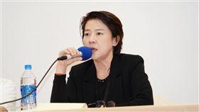 台北市副市長黃珊珊,出席內湖安養所22日火警案(圖/北市提供)