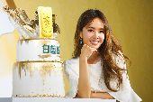 蔡依林出席品牌記者會擔任代言人(1)藝人蔡依林23日在台北出席品牌記者會擔任代言人,開心慶祝產品銷售創佳績。中央社記者王騰毅攝  109年9月23日