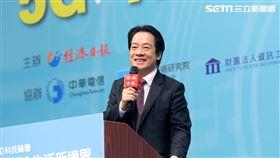 賴清德出席「5G x Al生活新境界科技論壇」。(圖/總統府提供)
