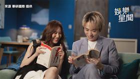 ▲文慧如與邱鋒澤在《Messed Up》MV裡扮情侶。(圖/華研國際 提供)