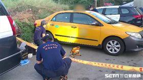 台中計程車司機遭割脖搶劫/翻攝畫面