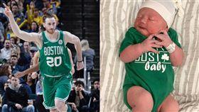 NBA/兒子出生!星海哥妻曬照惹議 NBA,季後賽,波士頓塞爾提克,星海哥,Gordon Hayward,新生兒 翻攝自IG robynmhayward