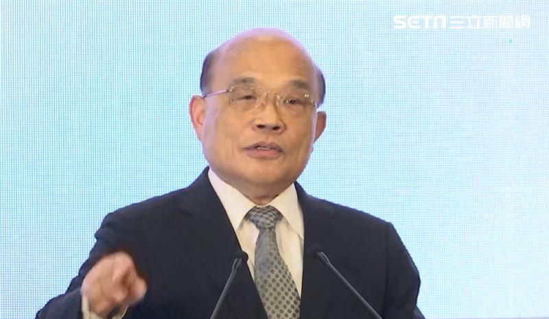 中國宣傳「九二共識」 蘇貞昌嗆這句