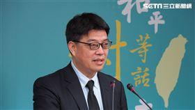 陸委會副主委兼發言人邱垂正。(圖/記者陳政宇攝影)