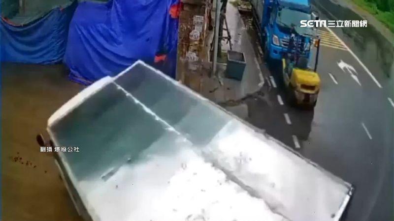 貨車駕駛甩尾神入庫 專家一句話警告