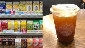 星巴克120元檸檬紅茶,被網友質疑跟20元紅茶一樣。(組圖/翻攝自爆怨公社)