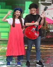 「第55屆電視金鐘獎」主持人盧廣仲、Lulu彩排。(記者邱榮吉/攝影)