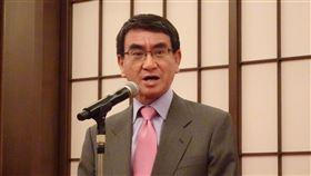 日外相:福島正強而有力復興日本外相河野太郎7日表示台灣管制日本食品進口一事導致無法參加CPTPP。7日晚間在宣傳福島食品安全性的晚宴上,他說福島正強有力在復興。中央社記者楊明珠東京攝 107年12月7日