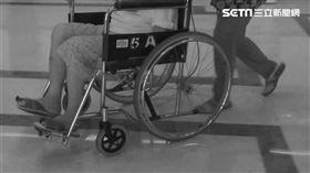 輪椅、老人、病人、看醫生