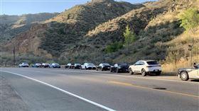 保時捷,超速,罰單,美國,車隊。(圖/翻攝自CSP Gamping)