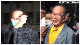 ▲廖國棟(左)與陳超明確定繼續在台北看守所裡羈押禁見。(資料照/記者楊佩琪攝)