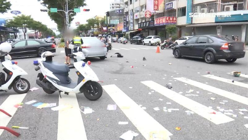 致命撞擊!7旬老翁遭2車追撞身亡