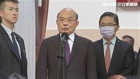 行政院長蘇貞昌總質詢前媒體時事題問