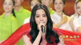 歐陽娜娜+張韶涵助唱央視國慶(圖/翻攝自春晚微博)