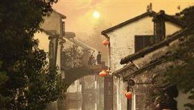 中國古鎮(示意圖/翻攝自百度百科)