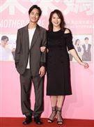 劉品言、夏騰宏出席「未來媽媽」第三波卡司發布會。(記者邱榮吉/攝影)