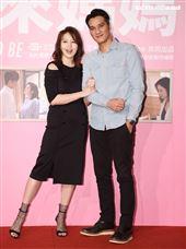 馬志翔、劉品言出席「未來媽媽」第三波卡司發布會。(記者邱榮吉/攝影)