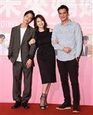 夏騰宏、劉品言、馬志翔出席「未來媽媽」第三波卡司發布會。(記者邱榮吉/攝影)