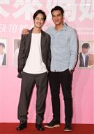 馬志翔、夏騰宏出席「未來媽媽」第三波卡司發布會。(記者邱榮吉/攝影)