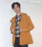 李英宏出席品牌服飾十周年慶。(記者邱榮吉/攝影)