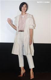 桂綸鎂出席品牌服飾十周年慶。(記者邱榮吉/攝影)