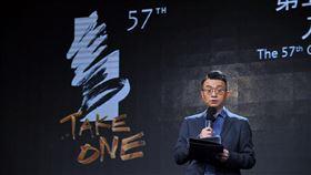 聞天祥介紹金馬57入圍影片第57屆金馬獎入圍公布記者會30日在台北舉行,金馬執委會執行長聞天祥介紹入圍影片與人員。中央社記者王飛華攝 109年9月30日