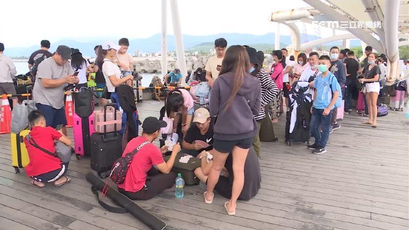 中秋連假離島夯!估5千遊客湧綠島