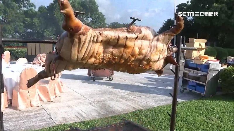 出一張嘴享美味!飯店推全豬烤肉趴