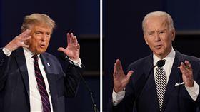 川普、拜登辯論(美國,總統,大選,選舉 圖/美聯社/達志影像