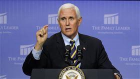 美國副總統彭斯(Mike Pence) 圖/美聯社/達志影像