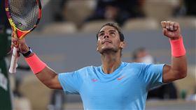▲「蠻牛」納達爾(Rafael Nadal)晉級法網16強。(圖/美聯社/達志影像)