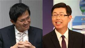 鴻海董事長劉揚偉(圖/鴻海提供) 和碩董事長童子賢(圖/資料畫面)